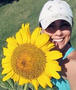 tesla.pic sunflower